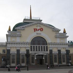 Железнодорожные вокзалы Зимы